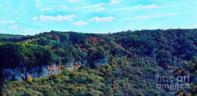 Photograph - Scenic View At Fall Creek Falls State Park by Sandra Clark