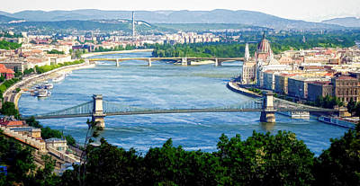 Photograph - Scenic View Blue Danube by Caroline Stella