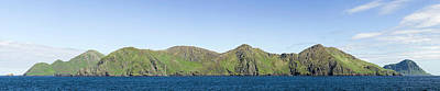 Kodiak Photograph - Scenic View Of Barren Islands by Panoramic Images