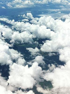 Scenic View Of Cloudy Sky Art Print by Agnieszka Morawska / Eyeem