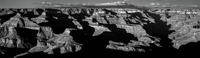 White River Scene Photograph - Scenic View Of Grand Canyon, Grand by Panoramic Images