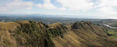 Hawkes Bay Photograph - Scenic View Of Landscape From Te Mata by Panoramic Images