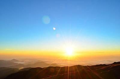 Photograph - Scenic View Of Sunrise by Arturo Rafael Enriquez / Eyeem