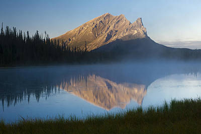 Dalton Highway Photograph - Scenic View Of Supakpak Mountain Near by Michael DeYoung