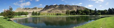 Scenic View Of Te Mata Peak From Craggy Art Print