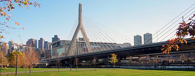 Photograph - Scenic Zakim Bridge by Caroline Stella