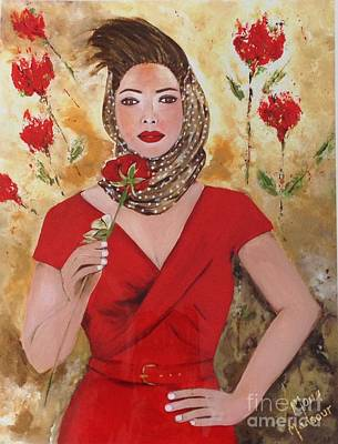Painting - Scent Of A Woman by Mona Mansour Jandali