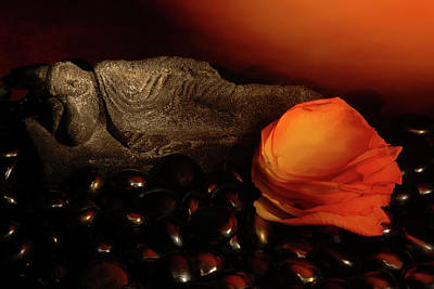 Buddhist Photograph - Scented Dreams by Phyllis Clarke