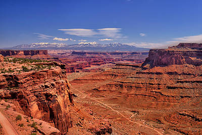 Photograph - Schafer Overlook by Greg Norrell