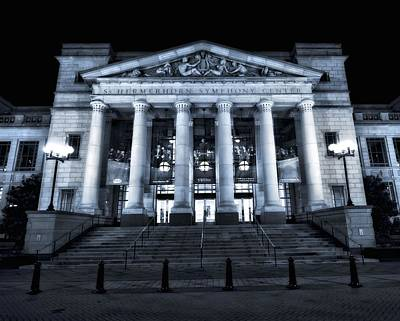 Downtown Nashville Photograph - Schermerhorn Symphony Center by Dan Sproul
