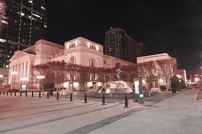 Photograph - Schermerhorn Symphony Center by Robert Hebert