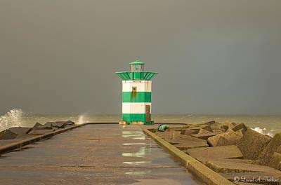Scheveningen Pier Photograph - Scheveningen Pier by Laurel Butkins