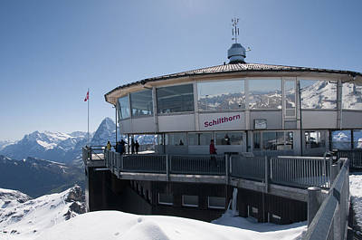 Photograph - Schilthorn by David Yack