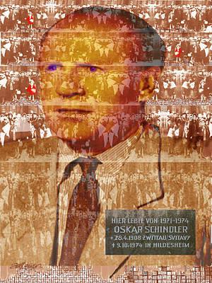 Schindlerjuden Art Print by Seth Weaver