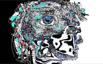 Schizophrenia Art Print