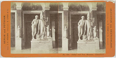 Berlin Drawing - Schlaf Und Tod, Museum Berlin, Germany, Johann Friedrich by Artokoloro