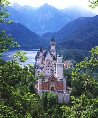 Castle Photograph - Schloss Neuschwanstein by Timm Chapman
