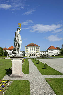 Schloss Nymphenburg In Muenchen, Castle Art Print by Tips Images