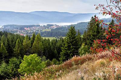 Schluchsee In The Black Forest Original