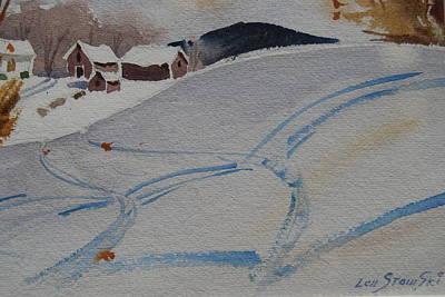 Painting - Schnieder Farm Study by Len Stomski