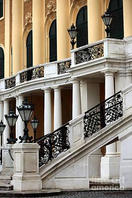 Photograph - Schonbrunn Palace Design by John Rizzuto