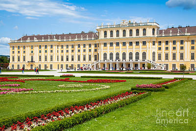Photograph - Schonbrunn Palace In Vienna by JR Photography