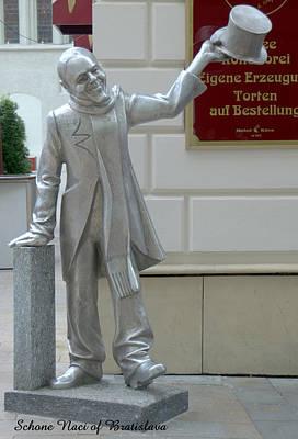 Photograph - Schone Naci Of Bratislava by Caroline Stella