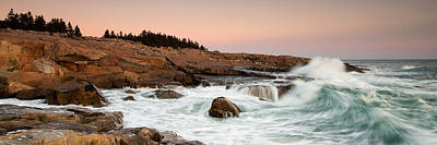 Schoodic Point - Acadia National Park Art Print by Patrick Downey