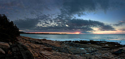 Photograph - Schoodic Point Sunrise 7218 by Brent L Ander