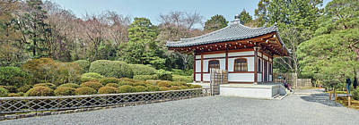 School Building In Ryoan-ji Temple Art Print by Panoramic Images