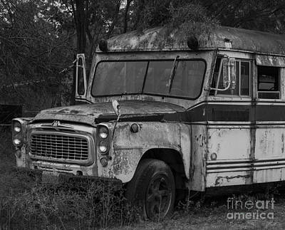 Photograph - School Bus by Amber Kresge