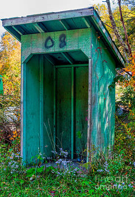 Photograph - School Bus Hut In Wv by Kathleen K Parker