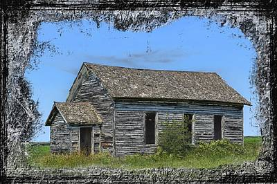 Photograph - School House by Bonfire Photography