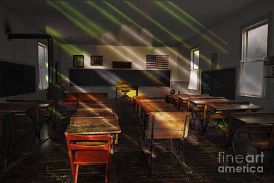 Photograph - School - Old School Charm  by Liane Wright
