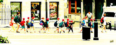 Travel Rights Managed Images - School Outing Royalty-Free Image by CHAZ Daugherty