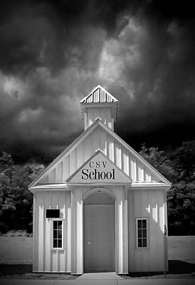 Photograph - School  by Patrick Boening