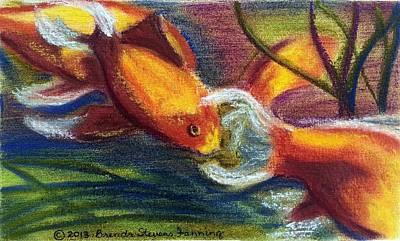 Painting - Schoolin by Brenda Stevens Fanning