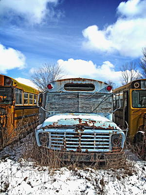 Photograph - Schools Out - II by Alan Norsworthy