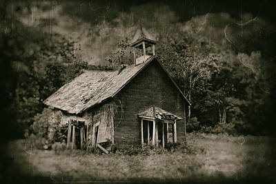 Dilapidated Photograph - School's Out by Tom Mc Nemar