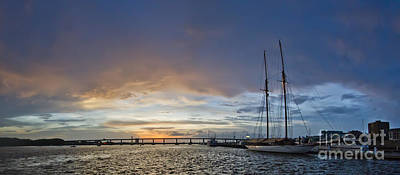 Novae Photograph - Schooner Germania Nova Sunset by Dustin K Ryan