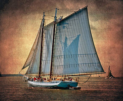 Photograph - Schooner Grace Bailey by Fred LeBlanc