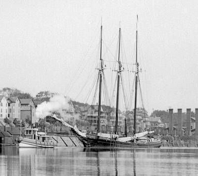 Photograph - Schooner by William Haggart
