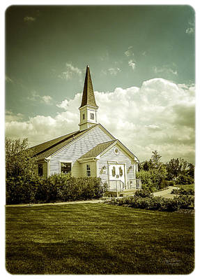 Photograph - Schram Memorial Chapel by Julie Palencia