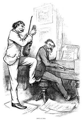 Schurz And Reid, 1876 Art Print
