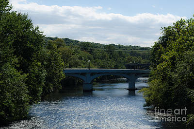 Photograph - Schuykill River In Hamburg Pennsylvania by Donna Brown