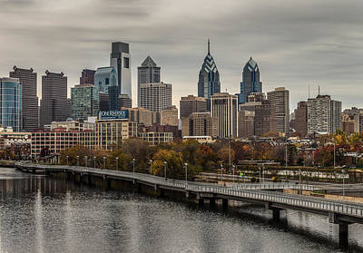 Schuylkill Banks Boardwalk Art Print by Capt Gerry Hare