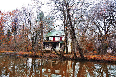 Schuylkill Canal Port Providence Art Print by Bill Cannon