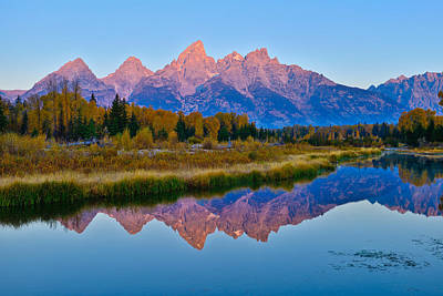 Photograph - Schwabacher Dawn by Greg Norrell