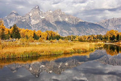 Photograph - Schwabacher Reflections by Theo OConnor