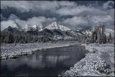 Photograph - Schwabacher's Landing Snowcover by Erika Fawcett
